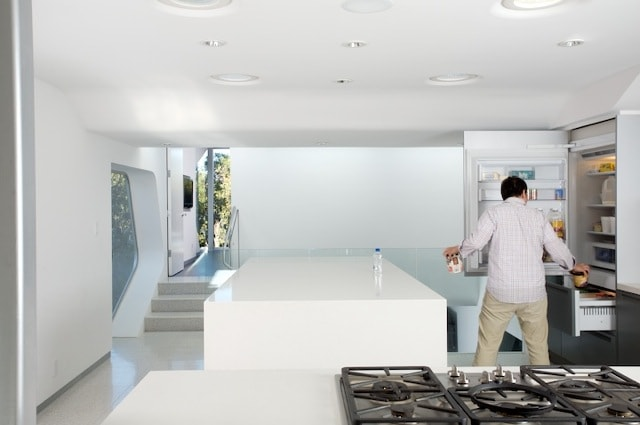 kitchen + refrigerator