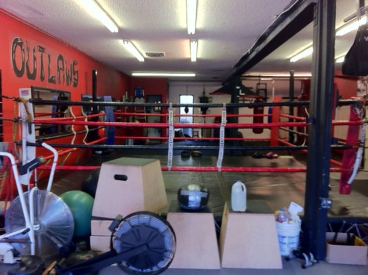 pic or boxing ring